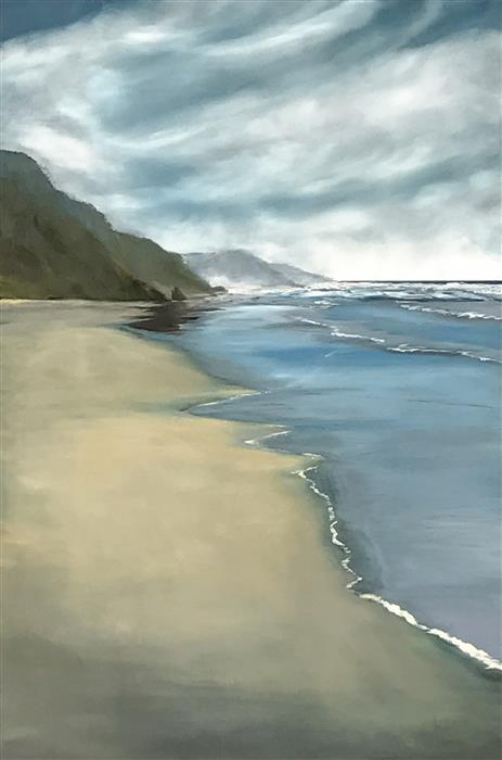 Discover Original Art by Mandy Main | Sublime Coast VII oil painting | Art for Sale Online at UGallery
