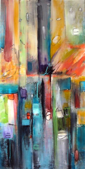 Discover Original Art by Jill Concetta | Divided other media | Art for Sale Online at UGallery