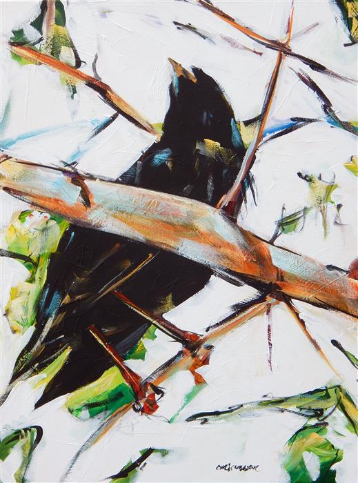 Discover Original Art by Chris Wagner | Bird acrylic painting | Art for Sale Online at UGallery