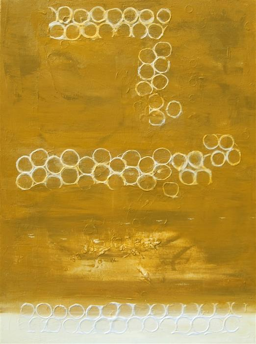 Discover Original Art by Anne Dosso-Powell | Honey mixed media artwork | Art for Sale Online at UGallery