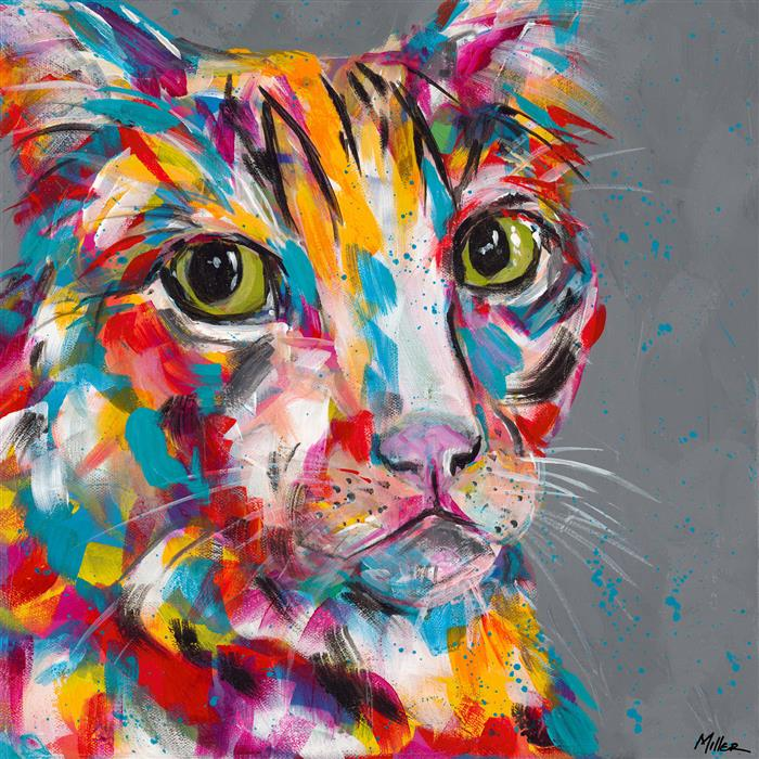 Discover Original Art by Tracy Miller | Sour Puss acrylic painting | Art for Sale Online at UGallery