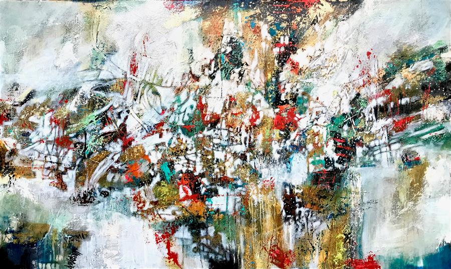 Discover Original Art by DL Watson | High Line acrylic painting | Art for Sale Online at UGallery