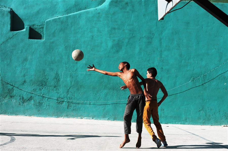 Discover Original Art by Maria Plotnikova | Cuban Basketball photography | Art for Sale Online at UGallery