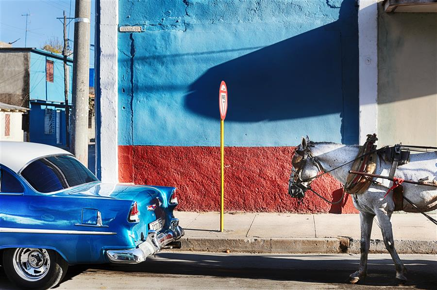 Original art for sale at UGallery.com | Typical Cuba by MARIA PLOTNIKOVA | $145 |  | ' h x ' w | \art\photography-Typical-Cuba