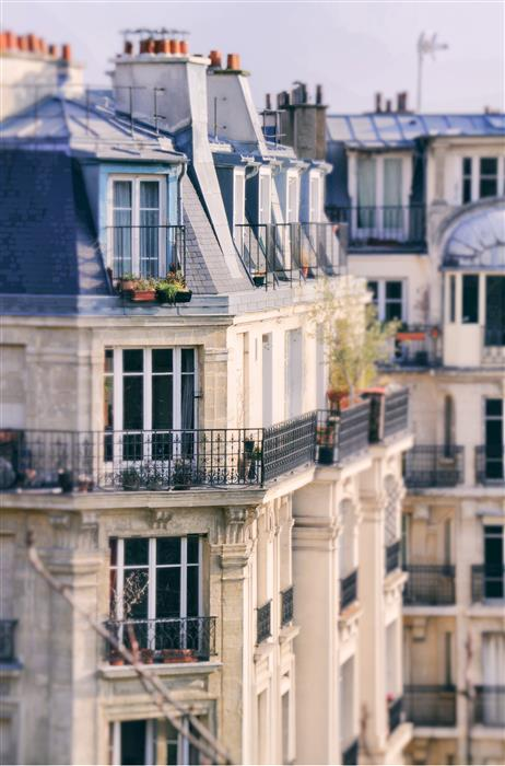 Original art for sale at UGallery.com | Morning Light in Paris by CARINA OKULA | $170 |  | ' h x ' w | \art\photography-Morning-Light-in-Paris