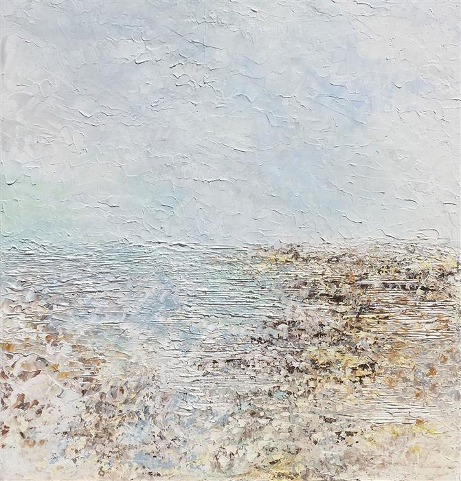 Discover Original Art by Ruth LaGue | Falling Rain acrylic painting | Art for Sale Online at UGallery