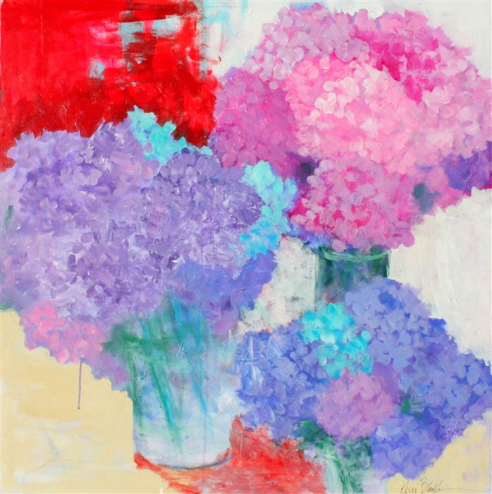 Discover Original Art by Kerri  Blackman | Garden's Plenty acrylic painting | Art for Sale Online at UGallery