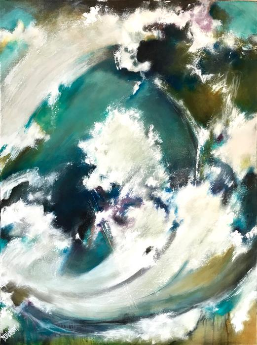 Discover Original Art by DL Watson | La Mer 2 acrylic painting | Art for Sale Online at UGallery
