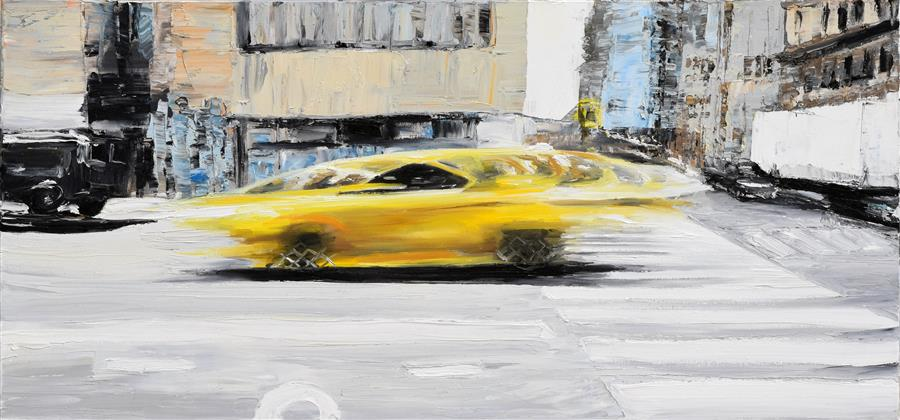 Discover Original Art by Piero Manrique | Bumblebee oil painting | Art for Sale Online at UGallery