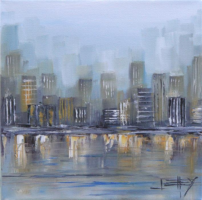 Discover Original Art by Lisa Elley | New York, New York oil painting | Art for Sale Online at UGallery