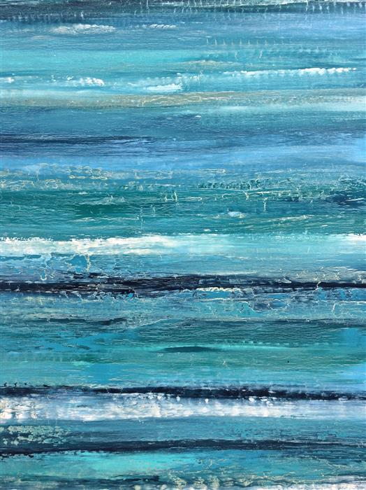 Discover Original Art by Alicia Dunn | La Jolla Shores acrylic painting | Art for Sale Online at UGallery