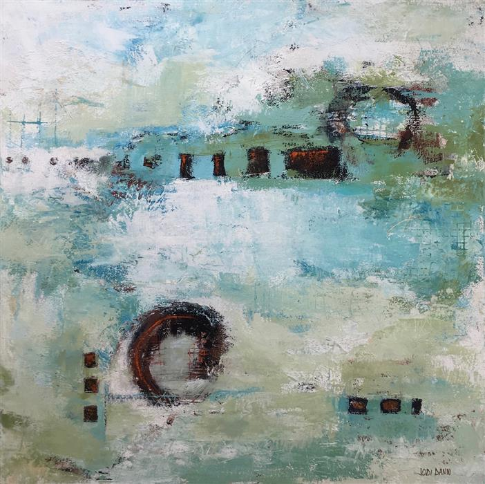 Discover Original Art by Jodi  Dann | Gateway acrylic painting | Art for Sale Online at UGallery