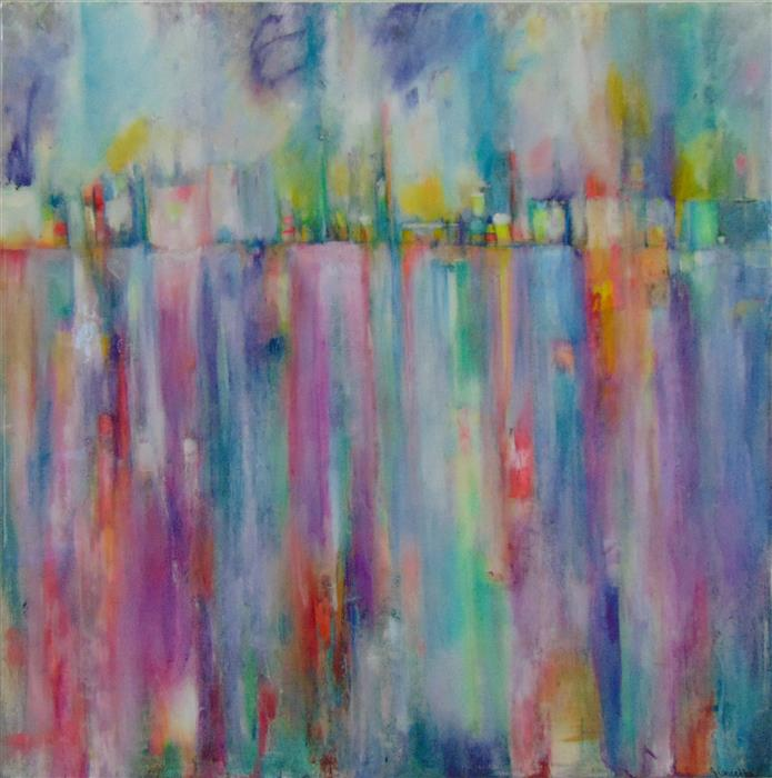 Discover Original Art by Jill Concetta | Urban Cascade other media | Art for Sale Online at UGallery
