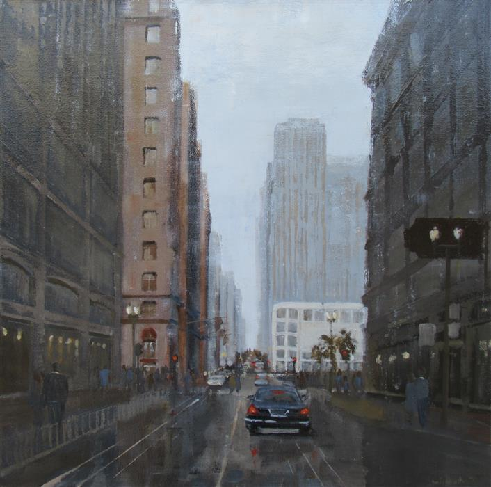 Discover Original Art by Jim Leland | Heading Up Powell oil painting | Art for Sale Online at UGallery