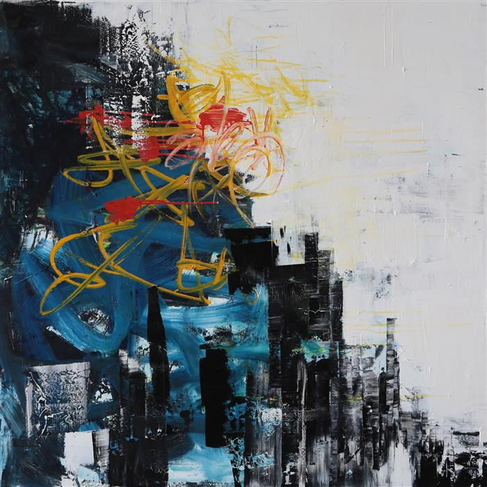 Discover Original Art by Mia Tarducci | In Motion oil painting | Art for Sale Online at UGallery