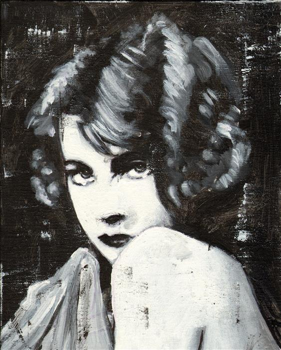Discover Original Art by Mark Cudd | Her, Too acrylic painting | Art for Sale Online at UGallery