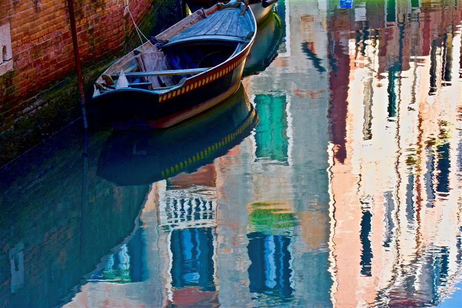 Discover Original Art by Ronald Erskine | Painted Waterway photography | Art for Sale Online at UGallery