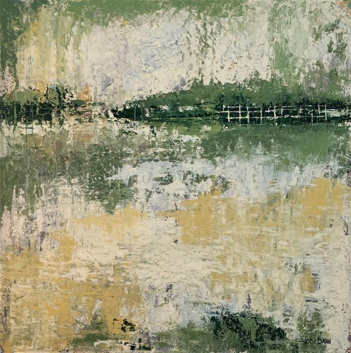 Discover Original Art by Jodi  Dann | That Monet Feeling acrylic painting | Art for Sale Online at UGallery