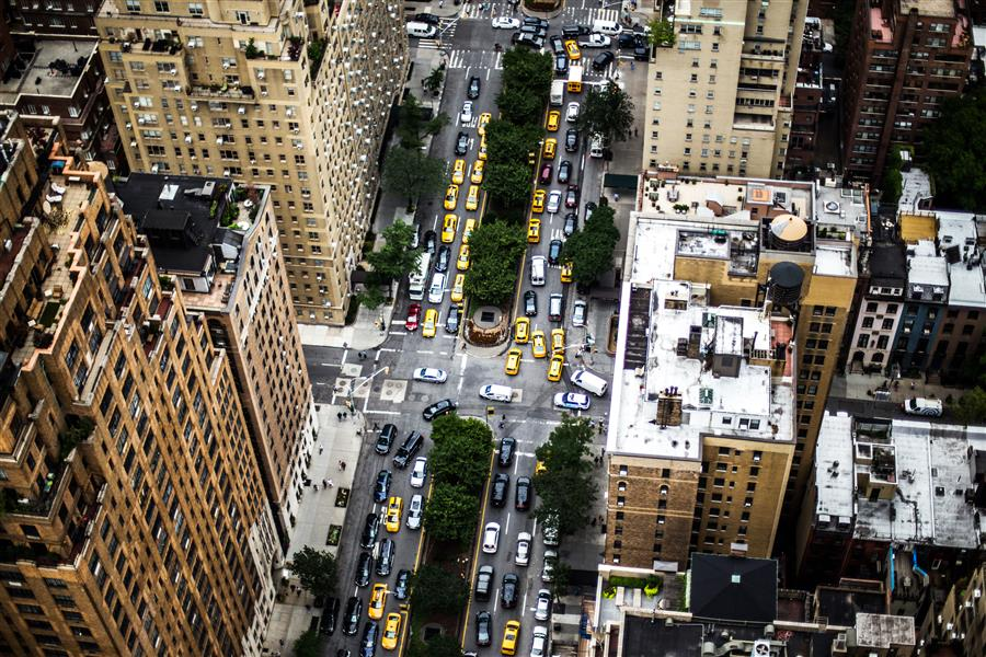 Original art for sale at UGallery.com | Park Ave by ANTHONY SOKOLOV | $245 |  | ' h x ' w | \art\photography-Park-Ave