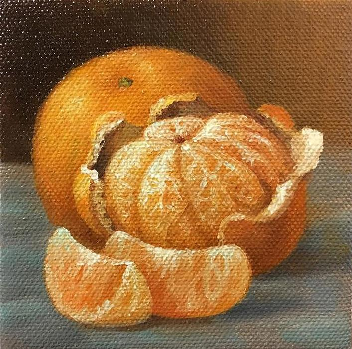 Discover Original Art by Nikolay Rizhankov | Mandarins oil painting | Art for Sale Online at UGallery