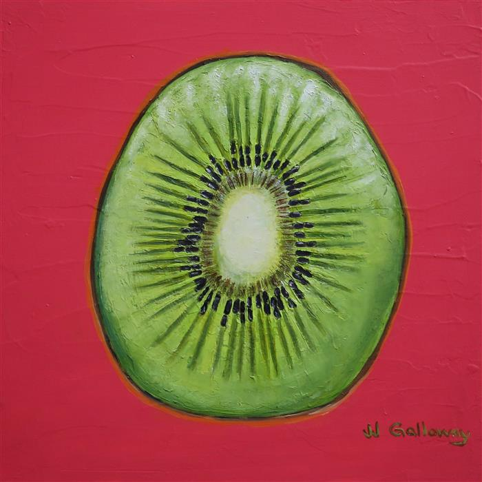 Discover Original Art by JJ Galloway | Kiwi oil painting | Art for Sale Online at UGallery