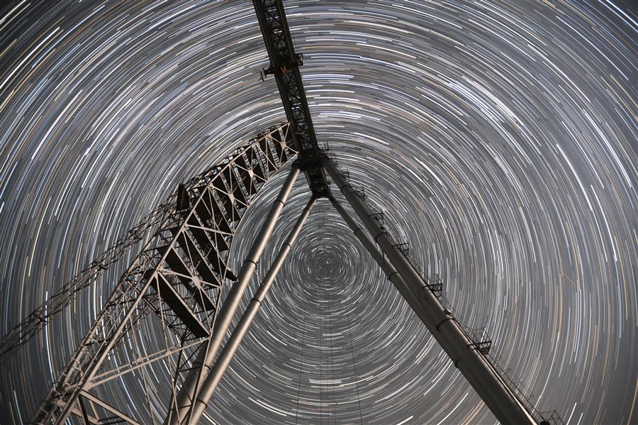 Original art for sale at UGallery.com | Star Track by MARIA PLOTNIKOVA | $145 |  | ' h x ' w | \art\photography-Star-Track