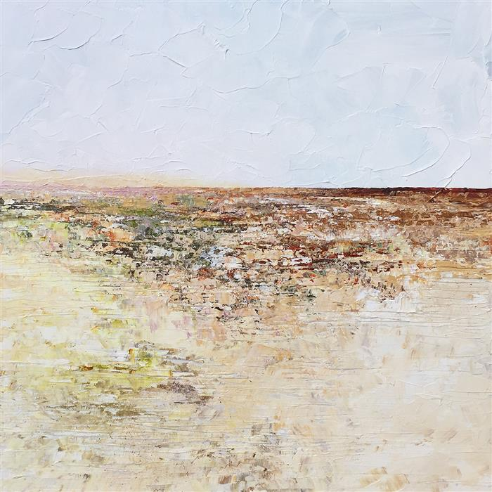 Discover Original Art by Ruth LaGue | After the Rain - Southwest High Desert acrylic painting | Art for Sale Online at UGallery