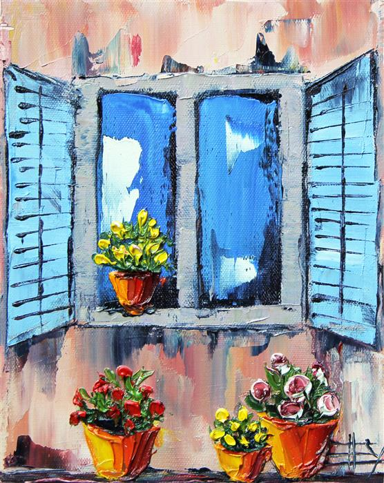 Discover Original Art by Lisa Elley | I Dream of Italy oil painting | Art for Sale Online at UGallery