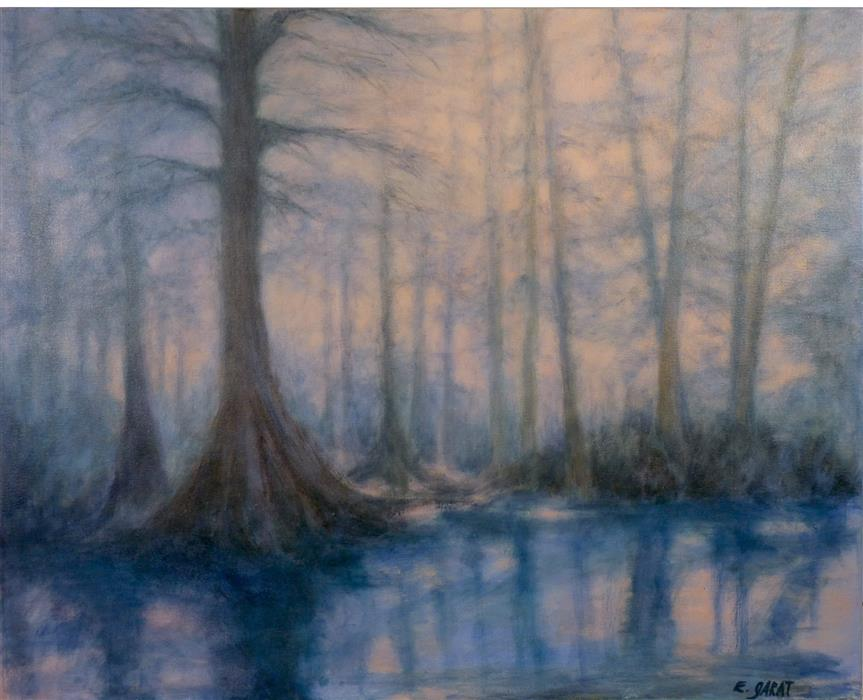 Discover Original Art by Elizabeth Garat | Ghost River Dream oil painting | Art for Sale Online at UGallery