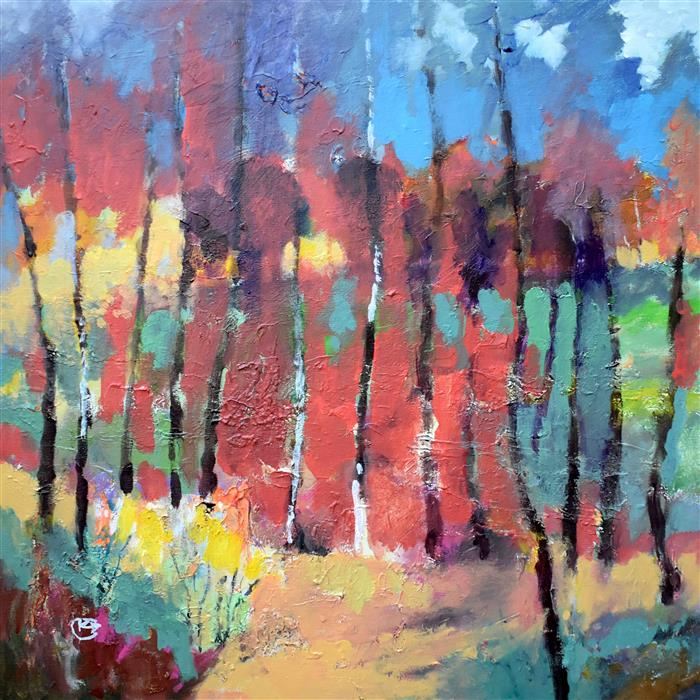 Discover Original Art by Kip Decker | August Woods acrylic painting | Art for Sale Online at UGallery