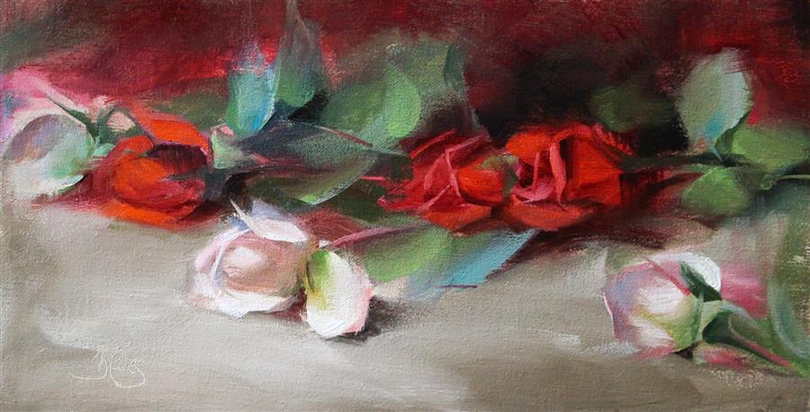 Discover Original Art by Pamela Blaies | Romantic oil painting | Art for Sale Online at UGallery