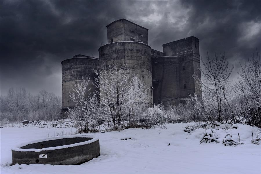 Original art for sale at UGallery.com | Winter Silence by RAFAL  KIJAS | $355 |  | ' h x ' w | \art\photography-Winter-Silence