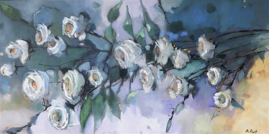 Discover Original Art by Mary Pratt | Roses oil painting | Art for Sale Online at UGallery