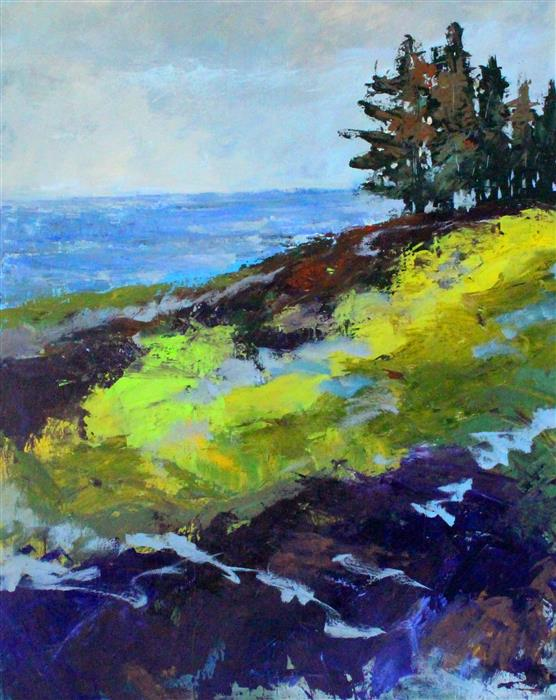 Discover Original Art by Nancy Merkle | Juan de Fuca acrylic painting | Art for Sale Online at UGallery