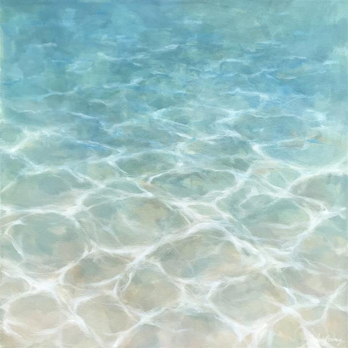 Discover Original Art by Laura Browning | White Sand oil painting | Art for Sale Online at UGallery