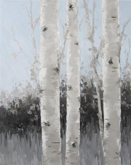 Discover Original Art by Tricia May | Three of a Kind oil painting | Art for Sale Online at UGallery