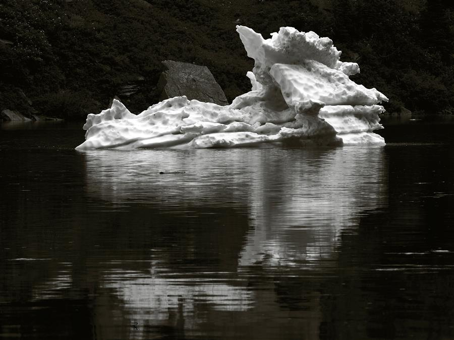 Original art for sale at UGallery.com | Iceberg, Leigh Lake by RANDOLPH FRITZ | $355 |  | ' h x ' w | \art\photography-Iceberg-Leigh-Lake
