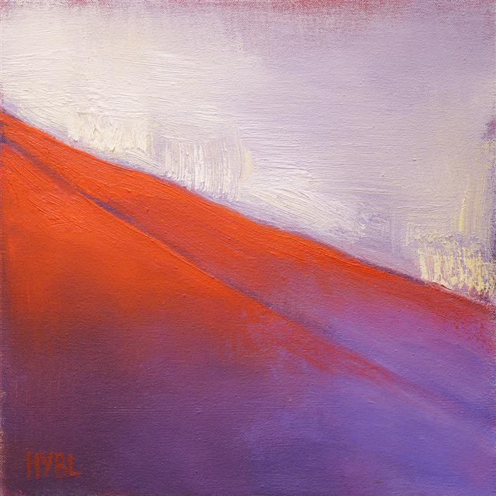 Discover Original Art by Heidi Hybl | Red Hills II oil painting | Art for Sale Online at UGallery