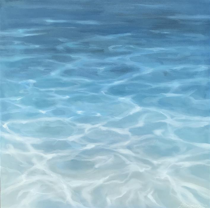 Discover Original Art by Laura Browning | Into the Sea oil painting | Art for Sale Online at UGallery