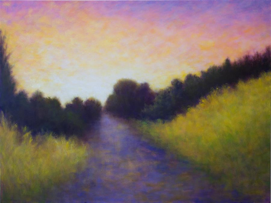 Discover Original Art by Victoria Veedell | Presidio Sunrise oil painting | Art for Sale Online at UGallery