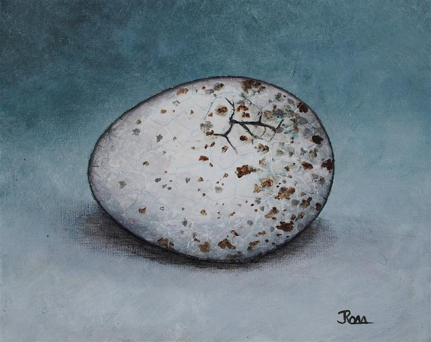 Discover Original Art by Jennifer Ross | The Bird Waits In The Egg #9 mixed media artwork | Art for Sale Online at UGallery
