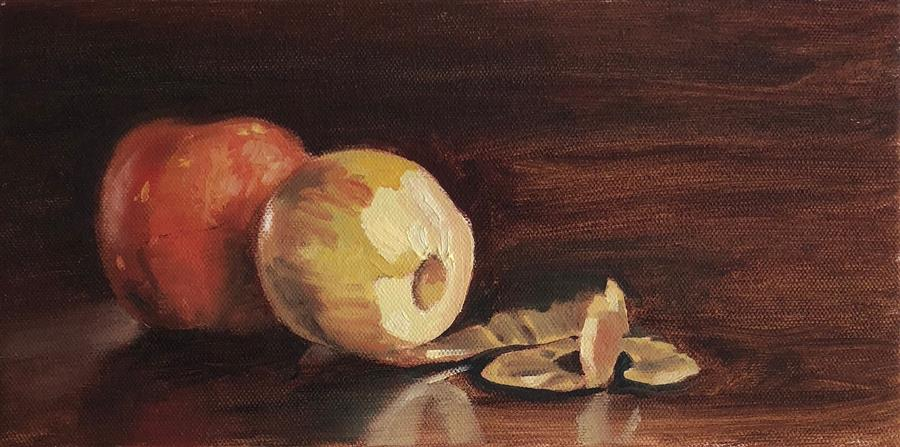 Discover Original Art by Jesse Aldana | Apple Insider oil painting | Art for Sale Online at UGallery