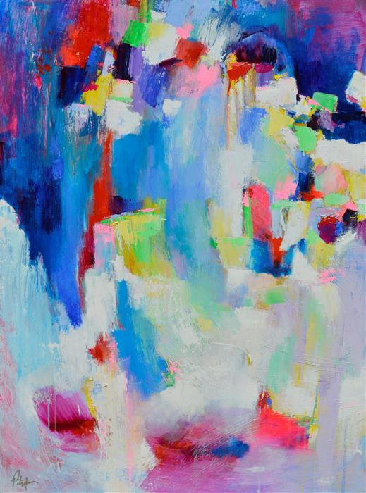 Discover Original Art by Patrick O'Boyle | Ethereal Abstraction 21 acrylic painting | Art for Sale Online at UGallery