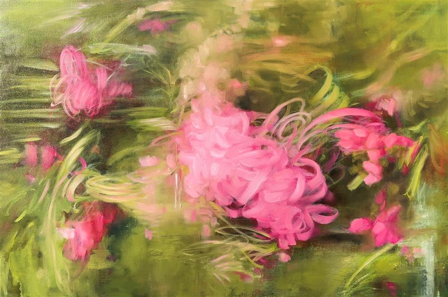 Discover Original Art by Faith Taylor | Quiet Strength oil painting | Art for Sale Online at UGallery