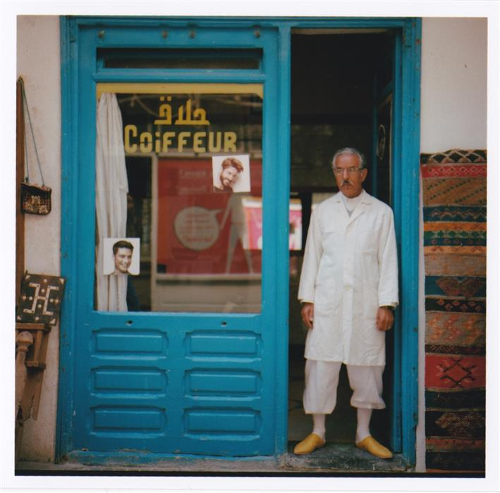Discover Original Art by Martin Runel | Barber, Essaouira, Morocco photography | Art for Sale Online at UGallery