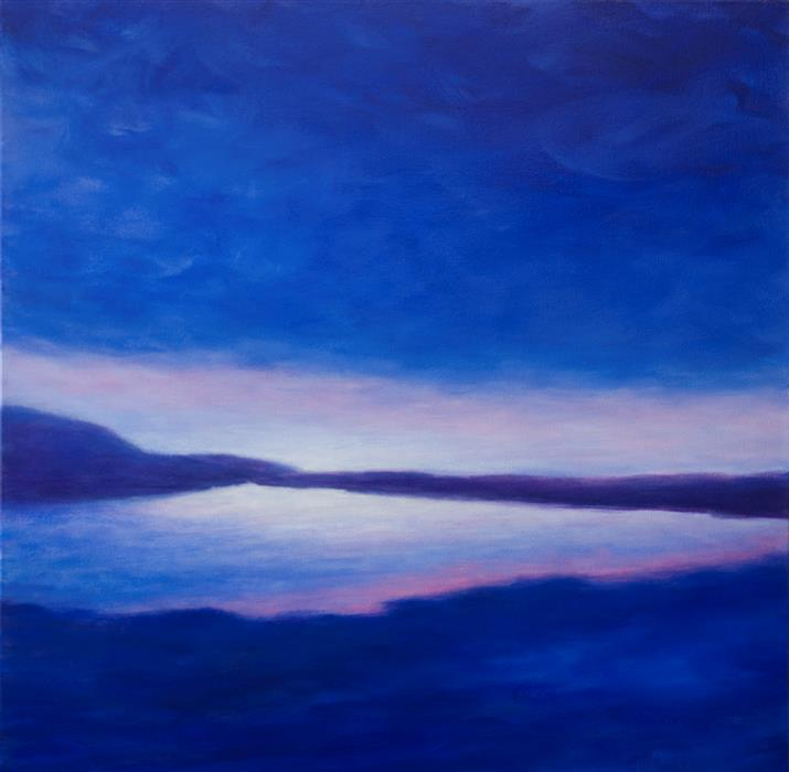 Discover Original Art by Victoria Veedell | Low Sky Over Laugarvatn oil painting | Art for Sale Online at UGallery