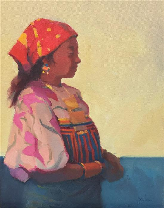 Discover Original Art by George Scribner | La Kunita oil painting | Art for Sale Online at UGallery