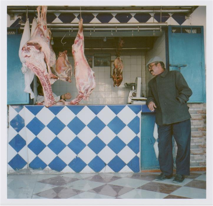 Discover Original Art by Martin Runel | Butcher Shop, Tidzi, Morocco photography | Art for Sale Online at UGallery