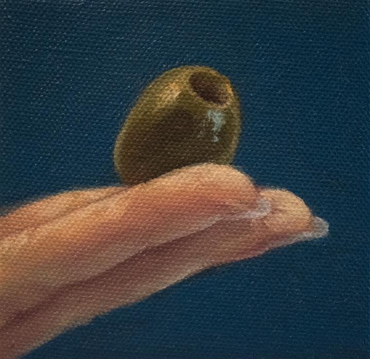 Discover Original Art by Shaina Craft | Finger Foods: Olive oil painting | Art for Sale Online at UGallery