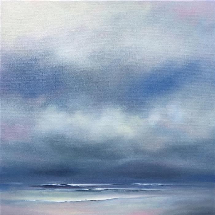 Discover Original Art by Nancy Hughes Miller | Ocean Moods oil painting | Art for Sale Online at UGallery